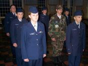 CAP Cadets in Parade